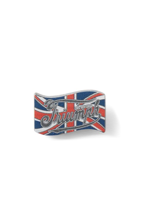 UNION JACK PIN BADGE X1